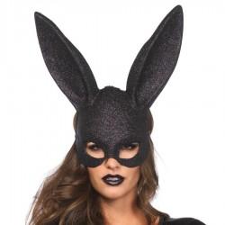 Masque de lapine scintillant