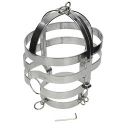 Cage de tête en métal pour...