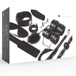 Kit experience BDSM noir
