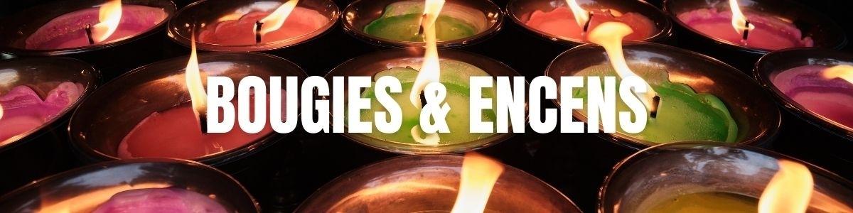 Bâtonnets d'encens et bougies parfumées :  créer une ambiance câline