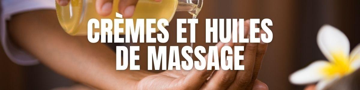 Les crèmes et huiles pour un Massage Érotique | MyLovePleasure.fr
