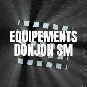 Equipements pour donjon SM