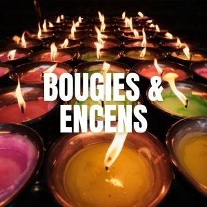 Bougies et encens