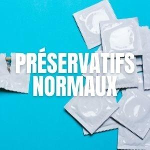 Préservatifs normaux