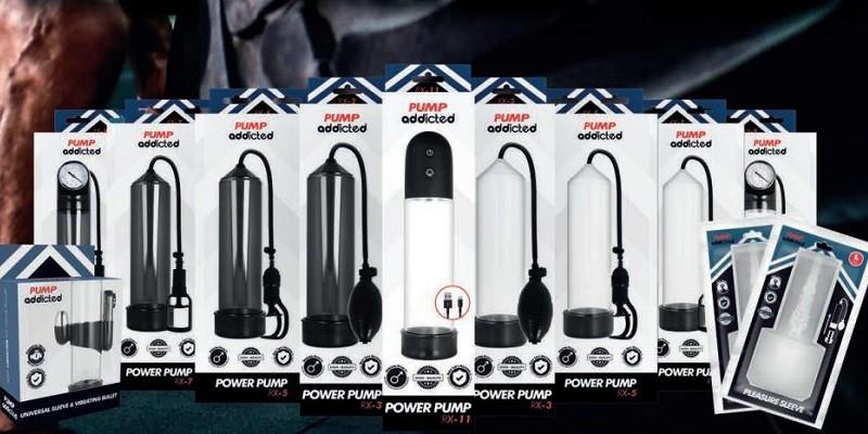 Meilleures performances avec les pompes à pénis Pump Addicted